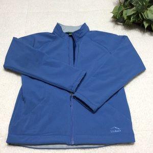 LLBean Furry Fleece Inside Lining Jacket Sz XL